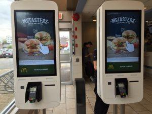 MacDonald-kiosk