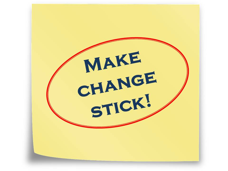 Make Change Stick Imagenesmi